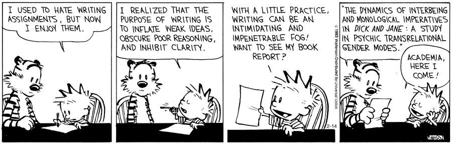 Active Voice vs. Passive Voice with Calvin & Hobbes