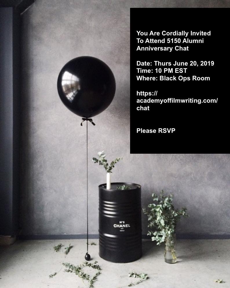 5150 June Anniversary & Alumni Chat