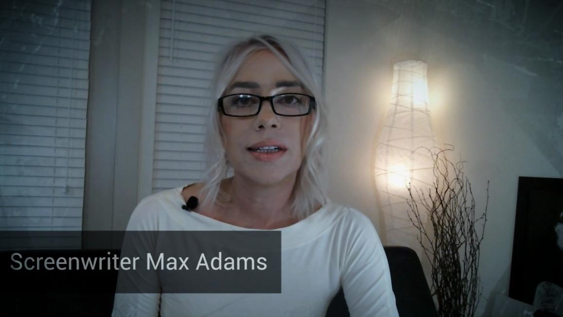 Screenwriter and Author Max Adams