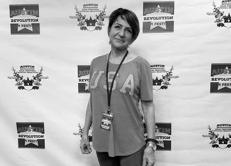 Debi Yazbeck at Austin Revolutio Film Festival, Austin Texas Setpember 2016