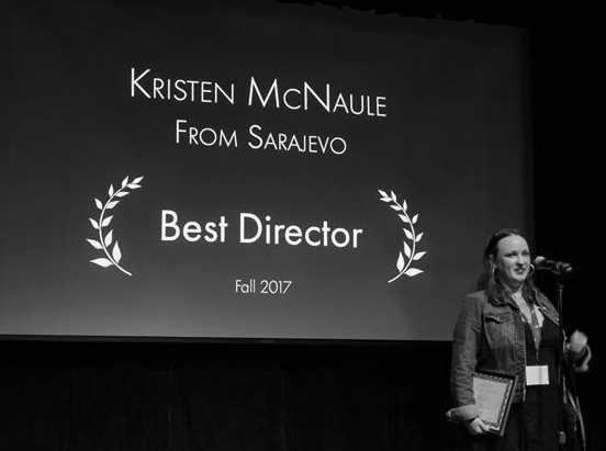 Kristen McNaule, Best Director, Digi60 2017, From Sarajevo