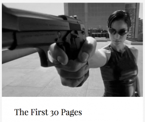 The First 30 Pages