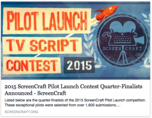 ScreenCraft Pilot Launch Competition Quarterfinalists Announced
