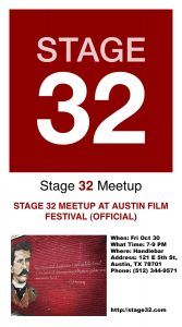 Stage 32 Meet Up at Austin Film Festival