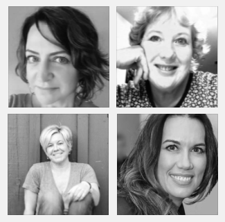 Screenwriters Debi Yazbeck, Della Greenawalt, Julie Hower, and Stacy Baker Masand