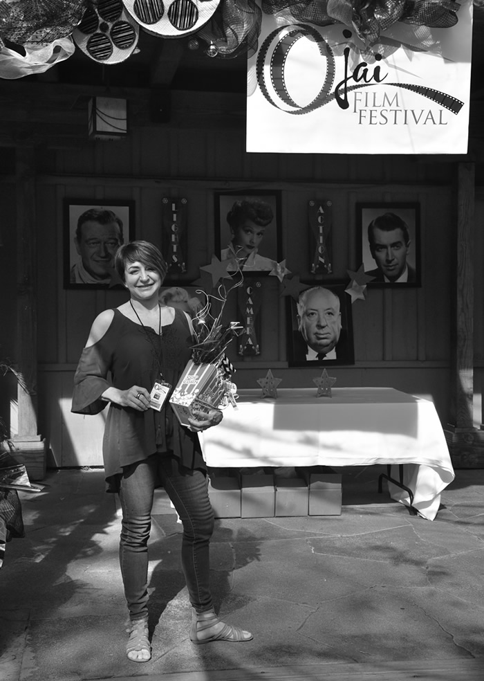 Screenwriter Debi Yazbeck at Ojai Film Festival, November 2016