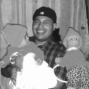 Jerry Hernandez mit Babies - Demon Baby sketch