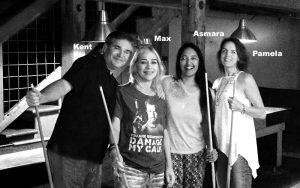 Kent Williams, Max Adams, Asmara Bhattcharya, Pamela Segger