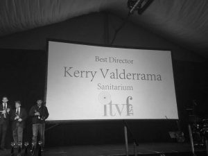 Kerry Valderram wins best director at Independent Television & Film Festival