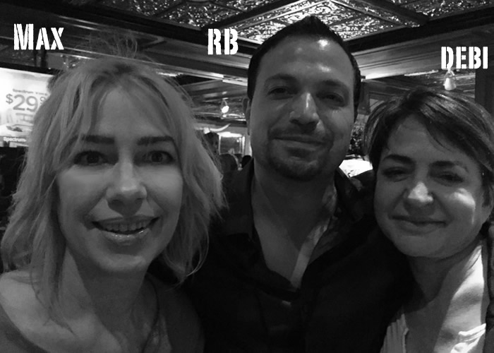 Max Adams, RB Botto, Debi Yazbeck, Austin Film Festival 2016
