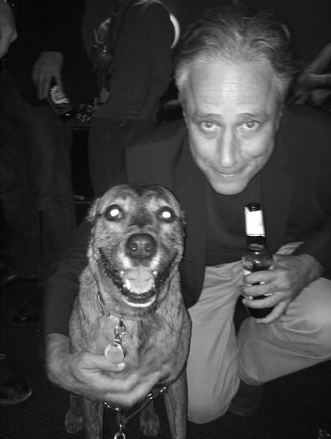 Pumpkin & Jon Stewart