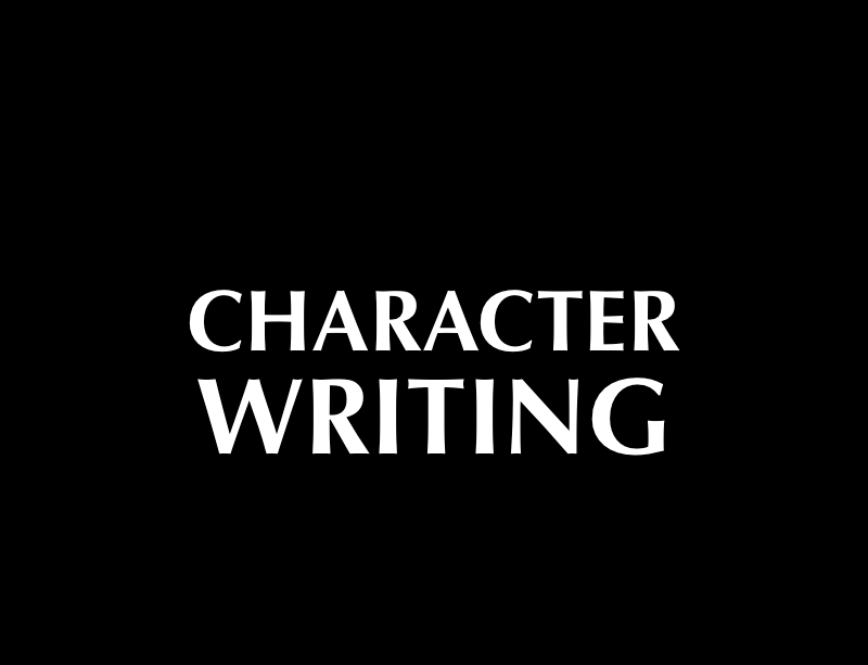 Character Writing, an AFW master screenwriting class online