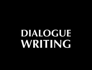 Dialogue Writing, an AFW master screenwriting class online