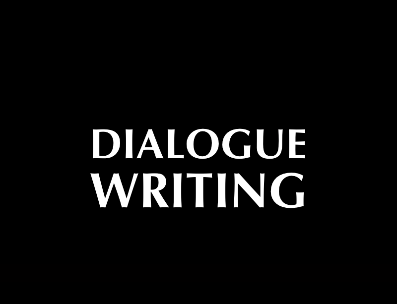 Dialogue Writing, an AFW master screenwriting class online